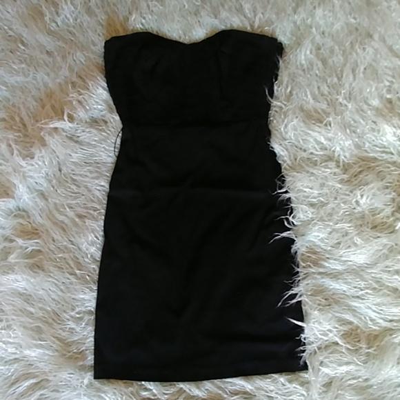 bebe Dresses & Skirts - 2b bebe Black Sleeveless Cocktail Dress